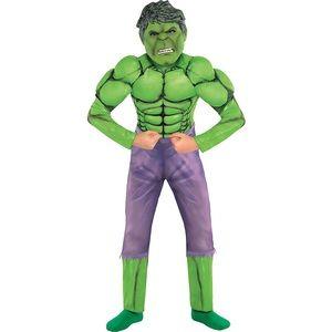 Kids Hulk Muscle Costume